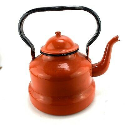 Red Retro Kettle for sale | eBay