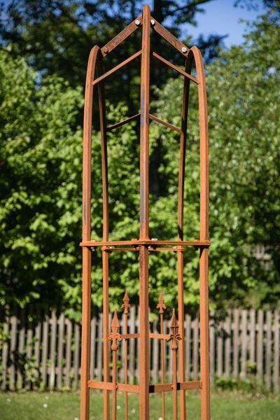 Rosenbogen Metall Turin Breite 180cm Rost Rosenbogen Metall Rosenbogen Bogen