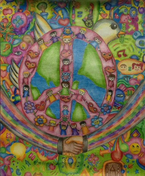 Finalist from Mexico: Lions Clubs International 2012-2013 Peace Poster Contest