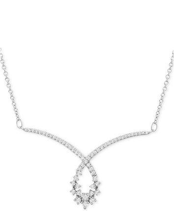 10++ Macys fine jewelry diamond necklace information