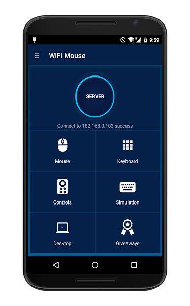 Apklio Apk for Android WiFi Mouse Pro 1.7.2 apk Wifi