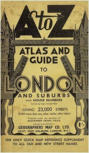 Az Street Map Of London.London Street Atlas Historical Edition A Z Street Maps Atlases