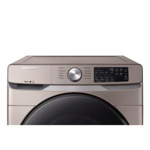 Samsung 4 5 cu  ft  High-Efficiency Champagne Front Load