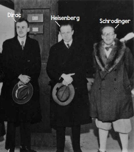 The 3 #quantum heroes: #Dirac #Heisenberg and #Schrodinger - Visit