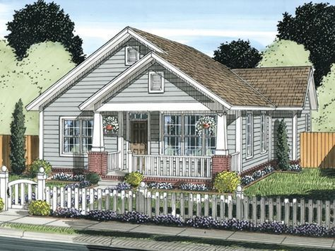 Eplans Country House Plan 1147 Square Feet And 2 Bedrooms From Eplans House Plan Co Cottage Style House Plans Starter Home Plans Craftsman Style House Plans