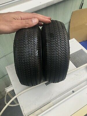 Ad Ebay 2 Tire 1 Set 10 Steel Air Pneumatic Hand Truck Dolly Wagon Industrial Wheel Trucks Steel Industrial