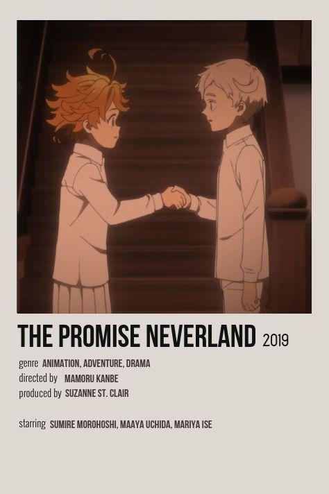 the promised neverland minimalist anime
