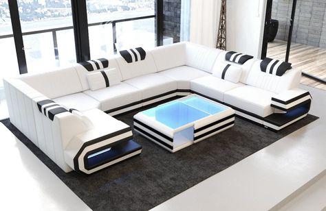 Wohnlandschaft Ragusa U Form With Images Modern Sofa