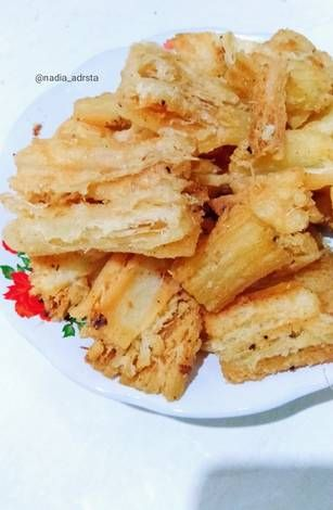 Resep Singkong Keju Merekah Kresss Empuk Oleh Nadia Andaresta Resep Keju Resep Bawang Putih