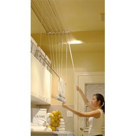 Laundry Lift Ceiling Mount Clothes Drying Rack 30 Line