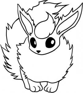 Flareon Pokemon Coloring Pages Pokemon Coloring Sheets Pokemon Coloring Pokemon Flareon