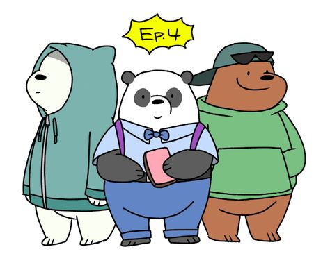 Bears Doodle We Bare Bears Bare Bears Bear