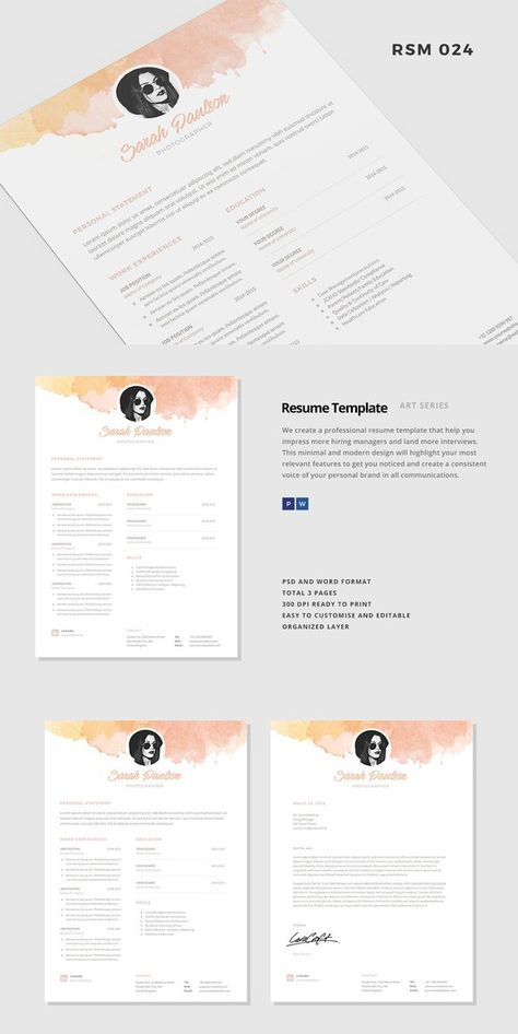 Resume Template -  - resume templates word mac