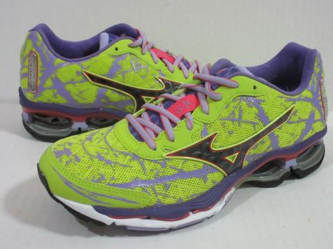 Details about Mizuno Wave Creation 16 Running Shoes Lime
