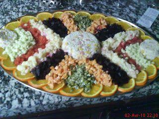 اروع انواع السلطات وطريقة عملها 2018 سلطات سريعة جديدة بالصور 2018 الوليد Fancy Food Presentation Moroccan Food Persian Food