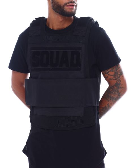 Buy Squad Mesh Vest Men's Outerwear from Hudson NYC. Find Hudson NYC fashion & more at DrJays.com