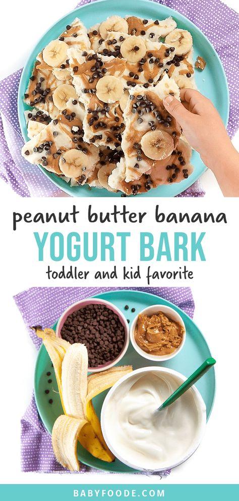 Summer Snacks, Lunch Snacks, School Snacks, Easy Snacks, Healthy Store Bought Snacks, Chocolate Yogurt, On The Go Snacks, Peanut Butter Banana, Breakfast For Kids