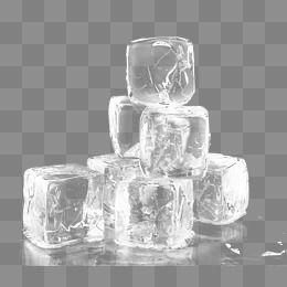 White Fresh Ice Decoration Pattern Ice Cube Cartoon Ice Cube Png Free Photoshop Resources