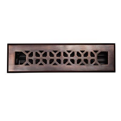 The Copper Factory 2 25 X 12 Copper Floor Register Vent Covers Flooring Antique Copper