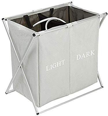 Amazon Com Hynawin Double Laundry Hamper With Waterproof Bags