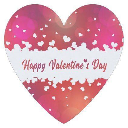 Lovely Happy Valentine\'s Day Hearts Heart Coaster - valentines day ...