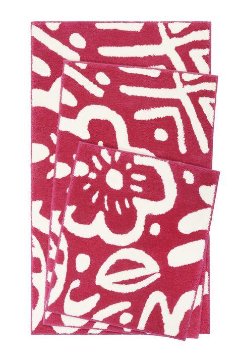 Esprit Badteppich Cool Flower Pink Badteppich Teppich Badezimmerteppich