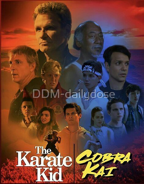 Cobra KAI - Karate Kid  by DDM-dailydose | Redbubble