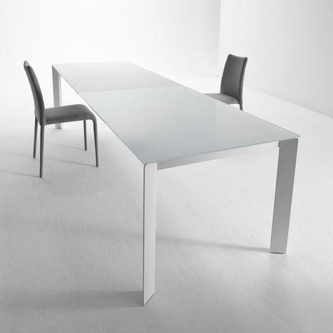 Tavolo Allungabile 140 X 140.Tavolo Allungabile Dal Design Moderno Ghedi All 140 X 90