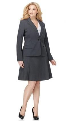 b61e0d3a0ca Classic Business Suit--notice the appropriate length in the skirt ...