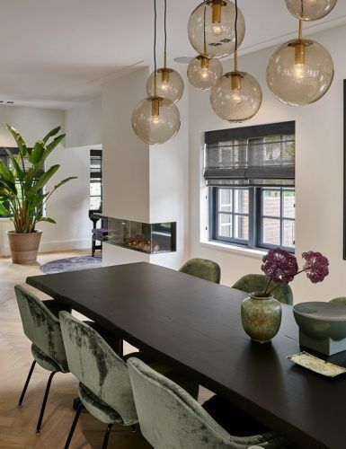 How To Get A Luxury Living Room With Golden Lighting Eetkamer