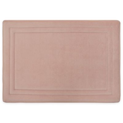 Smart Dry 17 X 24 Memory Foam Bath Mat In Blush Memory Foam