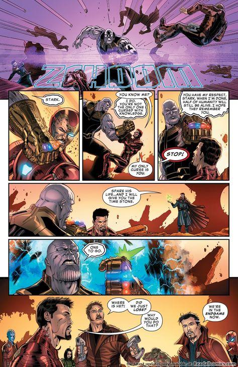 Marvel's Avengers Endgame Prelude 03 (of 03) (2019)