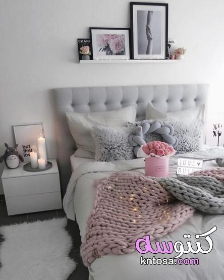 كنب وردي ورمادي ماهو اللون المناسب مع الوردي في الاثاث كنب وردي مخمل غرف جلوس رمادي وفوشي Bedroom Diy Bedroom Vintage Shabby Chic Bedrooms