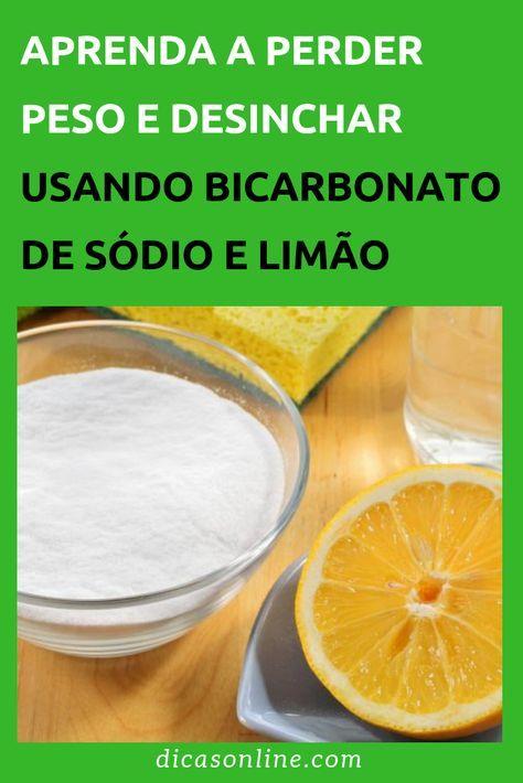 Limao E Bicarbonato Mistura Perfeita Para Perder Peso E Desinchar
