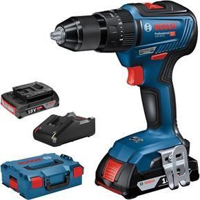 Bosch Gsb 18v 55 18v Brushless Combi Drill 2x 2ah 06019h5370 Electrica Taladro Herramientas
