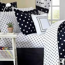 Black & White Polka Dot Bedding