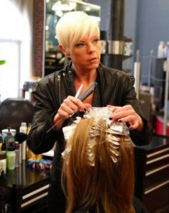 Celeb Hairstylist Tabatha Coffey Of S Salon Takeover Shares Hair Care Tips Beauty In 2018 Pinterest Salons And