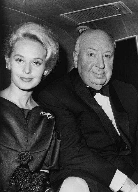 Tippi Hedren & Alfred Hitchcock