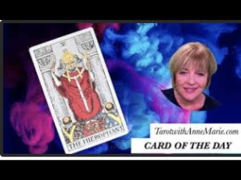Tarot Card for Guidance Today!  #TheHierophant #TarotWithAnneM...