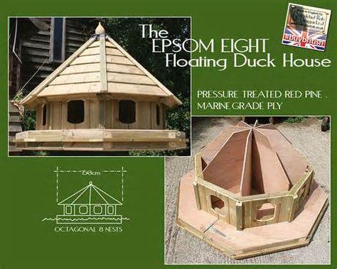 pindebbie wilson on ducks | pinterest | duck house, bird houses
