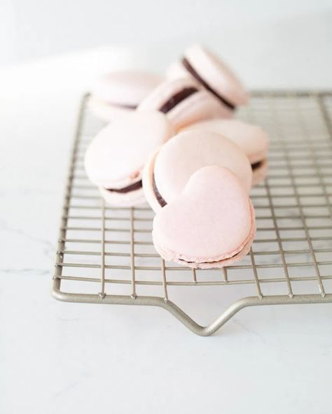 How to make French Macarons - Italian Meringue Method - Posh Little Designs