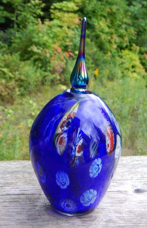 Italian Hand Blown Murano Glass and