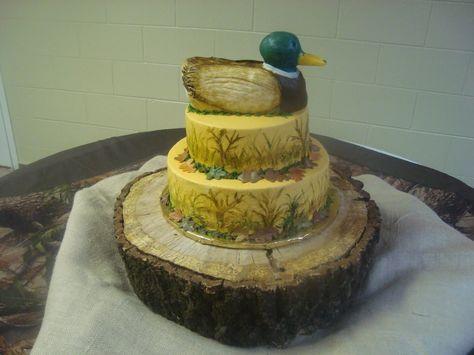 Duck Cake...cute!