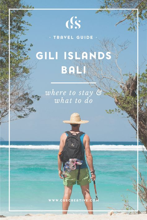 Welcome to Part 2 of my Bali Travel Guide. Part 1 was all about Ubud, which  is where Farmboy and I landed from Korea and spent the beginning and end of  our trip in July 2014. This part of the Bali travel guide is all about the  Gili Islands.  We spent the middle of our trip, a total of 5 nights on  these magical islands.   The Gili Islands are made up of of 3 small islands (Gili Trawangan, Gili  Meno & Gili Air) on the East coast of Bali. Gili Trawangan is the biggest  of the three and hom...