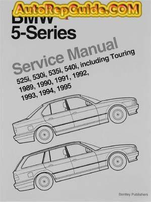 Repair Manuals Download Free Bmw 5 Series E34 1989 1995 Repair Manual Image By Autorepguide Com Repair Manuals Bmw 5 Series Bmw