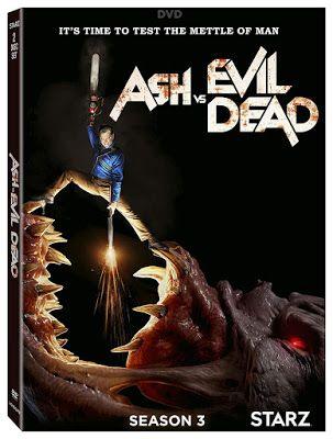 New On Dvd And Blu Ray Ash Vs Evil Dead Season 3 Evil Dead Movies Ash Evil Dead Seasons