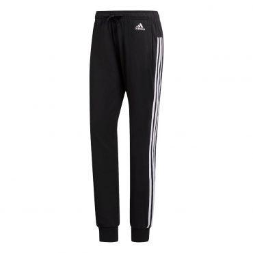 adidas Essentials 3-Stripes trainingsbroek dames black white ...