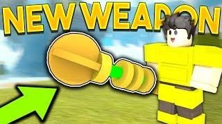 Crainer Roblox видео видео сообщество - New Money Making Weapon In Booga Booga It Drops Coins Roblox