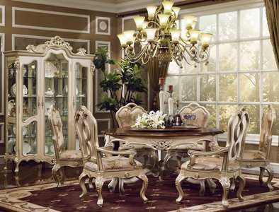The Palazzo Formal Dining Room Collection in Egyptian Pearl 14752