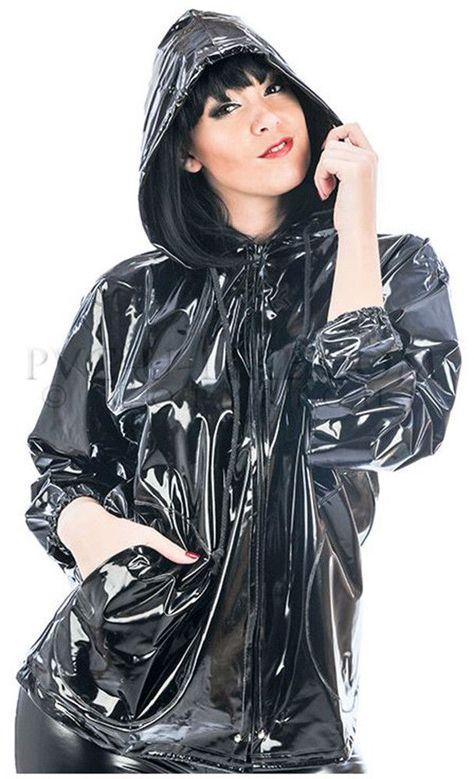 Regenmantel Regenjacke Raincoat Rainwear Manteaux de pluie Impermeable 100% PVC | Kleidung & Accessoires, Damenmode, Jacken & Mäntel | eBay!